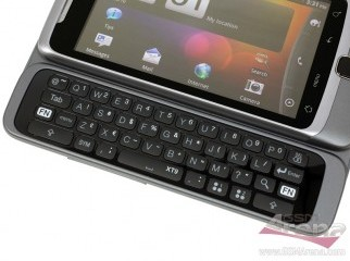 HTC Desire Z With Full QWERTY keyboard