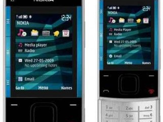 Nokia X3-00 Blue And Sliver Exchange Offer