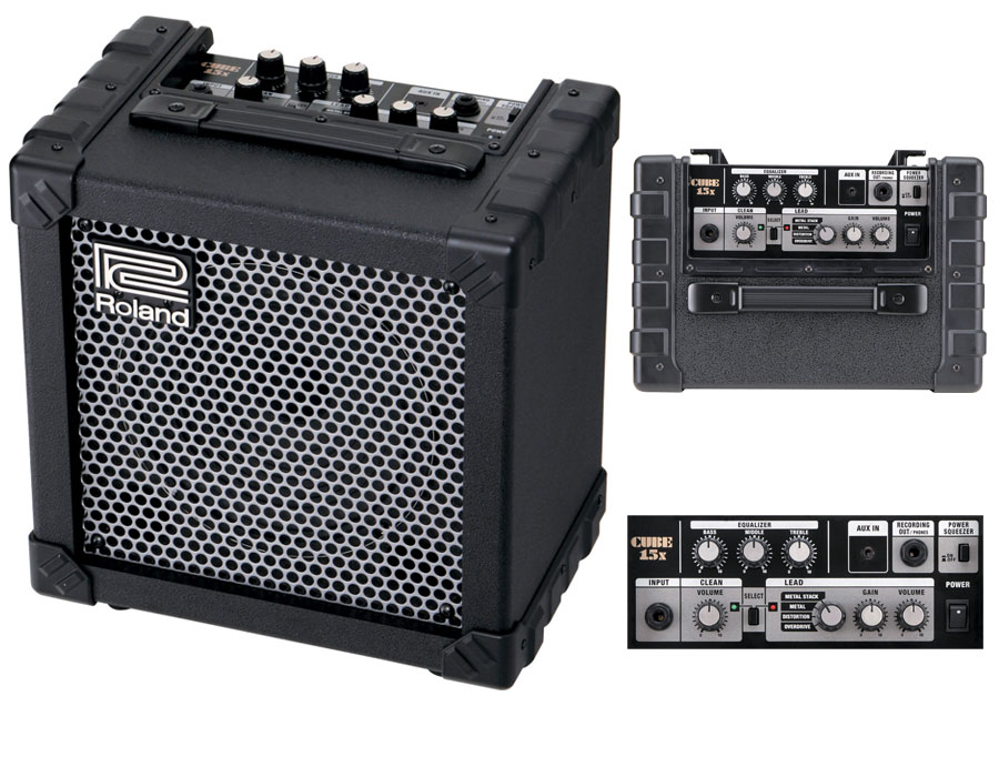 Rolan Cube15x guitar amp with Built in Distortions | ClickBD large image 0