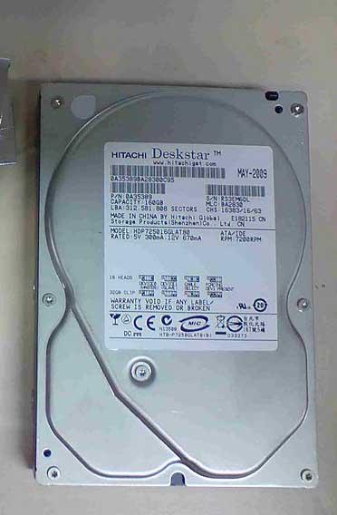 160GB IDE Hard Disk for Desktop NO Problem  | ClickBD large image 0