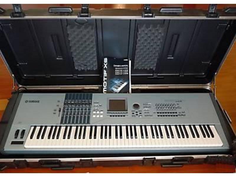 Yamaha Motif XS8 Keyboard 1100 BANK TRANSFER  | ClickBD large image 0