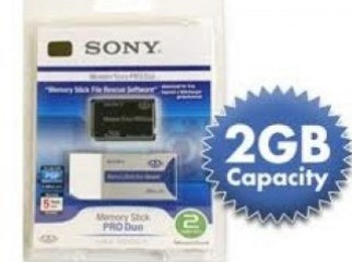 Memory Stick Pro Duo Sony 2GB