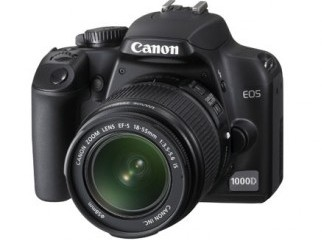 Canon 1000 D with 18-55 IS