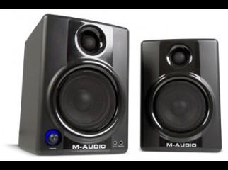 M-Audio Studiophile AV 40 Left right CH speakers