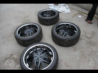 20 Inch Rim and Tire brand new