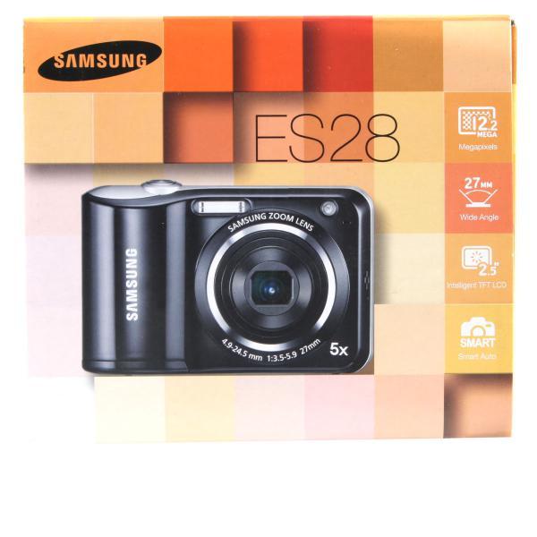 Samsung ES28 Digital Camera 12.2 Megapixel 5x ZOOM | ClickBD large image 0