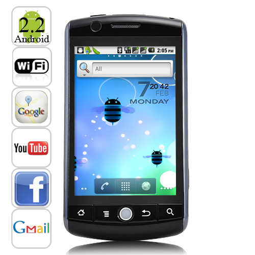 High Quality Dual SIM Android 2.2 | ClickBD large image 0