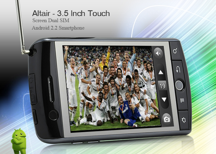 High Quality Dual SIM Android 2.2 | ClickBD large image 1