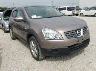 2007 NISSAN DUALIS GOLDN 2.0L GLASS ROOF HID ALLOY
