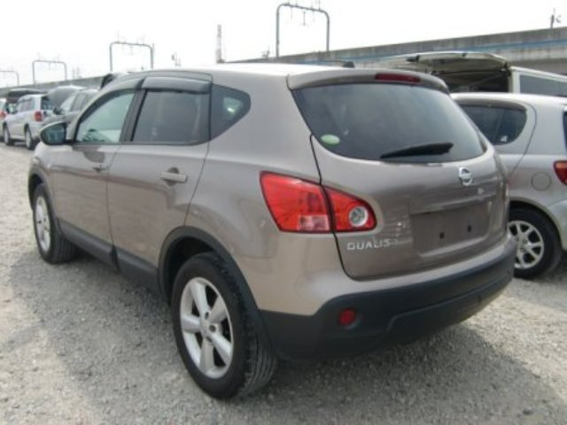 2007 NISSAN DUALIS GOLDN 2.0L GLASS ROOF HID ALLOY | ClickBD large image 1
