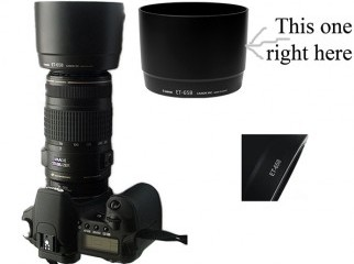 Canon 70-300 IS USM lens hood ET-65B for sell