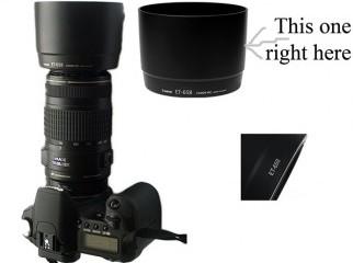 Canon 70-300 IS USM lens hood ET-65B for sell