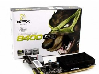 Graphics card 512MB G-force nVidia 8400 DDR2