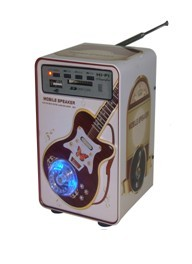 Mobile Speaker with Radio Support TF SD Card | ClickBD large image 0