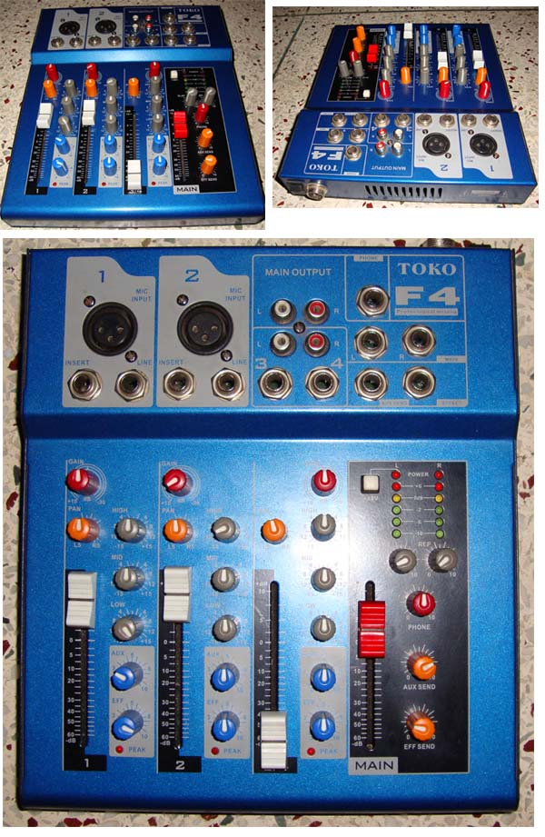 Professional Mixing Console for studio home studio | ClickBD large image 0