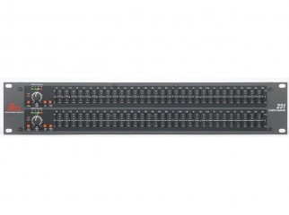 DBX 231 Dual 31 Band Graphic Equalizer
