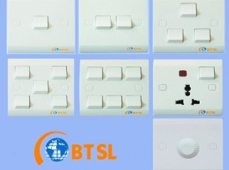 APARTMENT-WALL SWITCH SOCKET