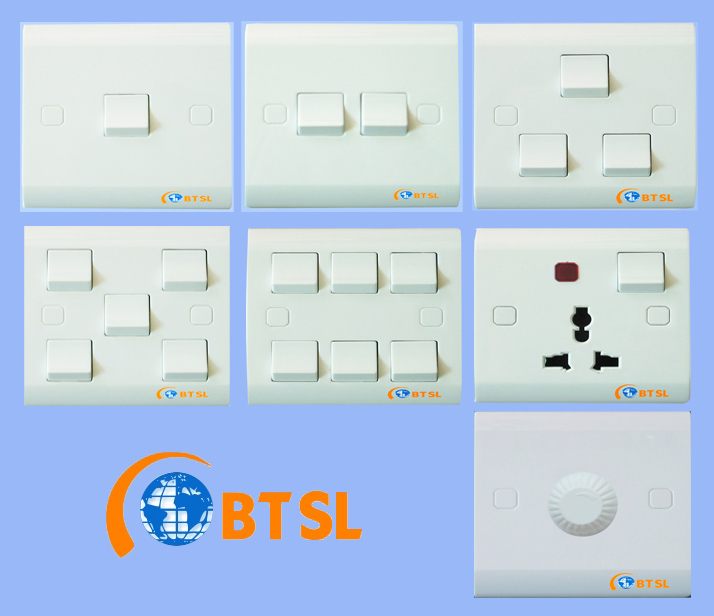 APARTMENT-WALL SWITCH SOCKET | ClickBD large image 0
