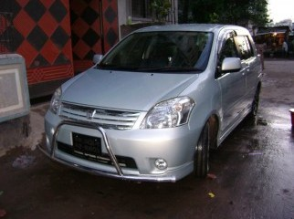 A Toyota Raum car 2005 model registered in 2009