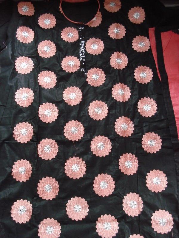 Cotton Embroidery 3 pcs unstitch | ClickBD large image 1