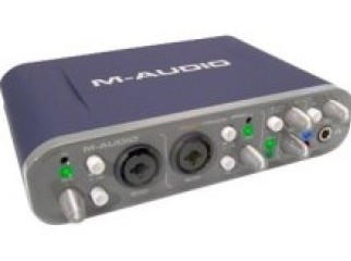 M-Audio Fast Track Pro Sound card - 96 kHz - 24-bi