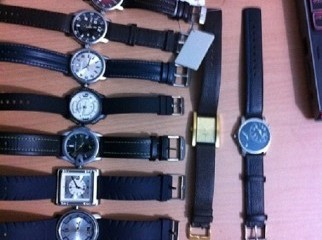 huge collection of fast track watches