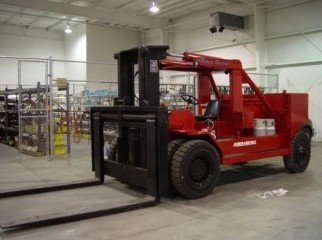 FORKLIFT CONTAINER HANDLING EQUIPMENT