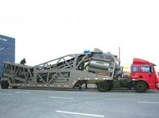 MOBILE CONCRETE BATCH MIXING PLANT