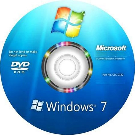 CD Windows 7 Original