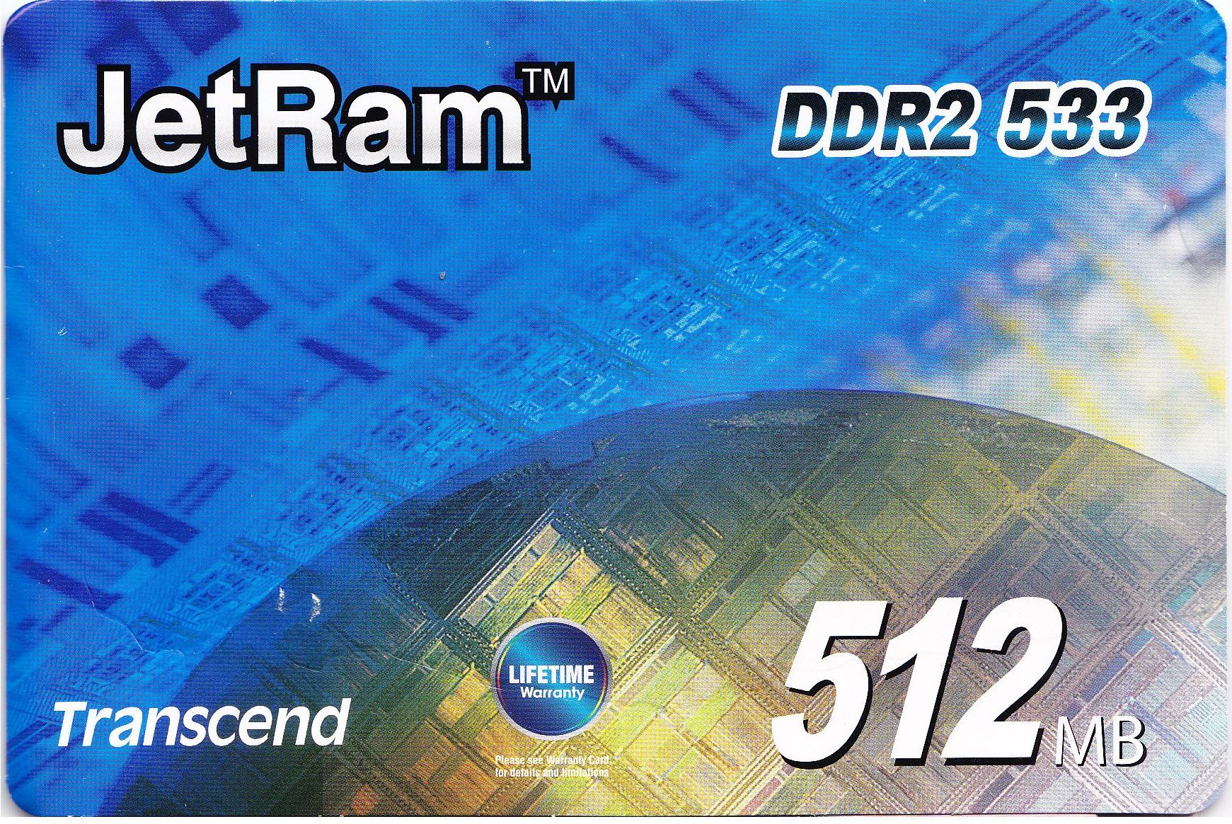 Transcend DDR2 533Bus 512RAM | ClickBD large image 0