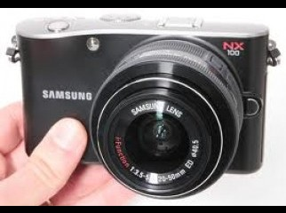 BRAND NEW Samsung NX100 Interchangeable Lens 14 Me