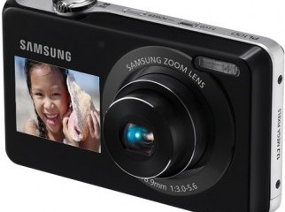 New Samsung PL100 Duel Display Digital Camera