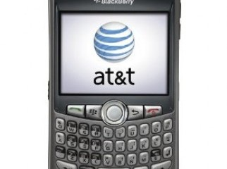 BlackBerry Curve 8300 - silver AT T USED