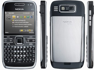 Nokia E72-1 with 16 GB External memory