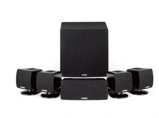 Yamaha NSP285BL Black 5.1 Channel Speaker Package