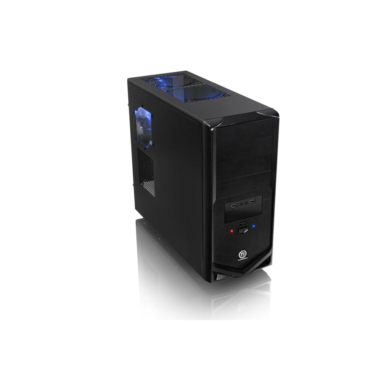 Thermaltake V4 Black Edition SECC Plastic ATX Mid | ClickBD large image 0
