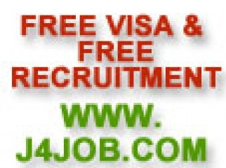 FREE VISA JOBS FREE RECRUITMENT FREE GULF RECRUI