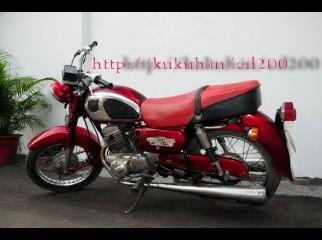 Honda CD 200. classic comfortable bike