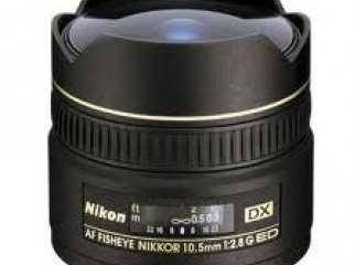 Nikon DX 10.5 mm f 2.8 G IF-ED AF Lens