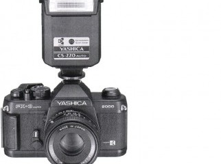 YASHICA FX-3 SUPER 2000 BLACK 35MM SLR Japan