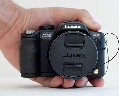 Panasonic LUMIX fz35 Semi SLR Hybrid Camera    ClickBD large image 0