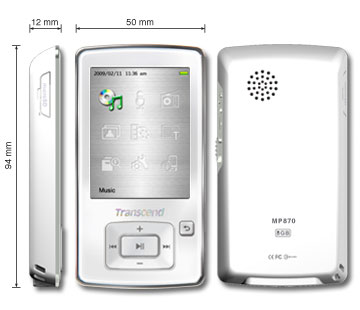 trancend mp4 player | ClickBD large image 0