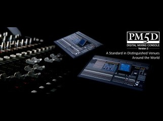YAMAHA PM5D Version 2 Live Sound Console Digital