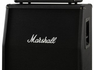 Marshall MG100HFX with modified cabinet