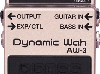 BRAND NEW Boss AW-3 Dynamic Wah Guitar Pedal