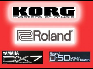 ROLAND KORG YAMAHA KEYBOARD FROM UK
