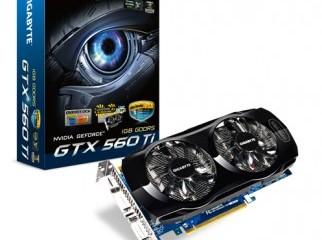 Gigabyte GTX 560Ti OC Edition 1GB GDDR5