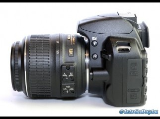 Nikon D3100 Digital SLR with Nikon 18-5 lens