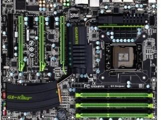 Gigabyte G1.Sniper Gaming motherboard 1366 soket