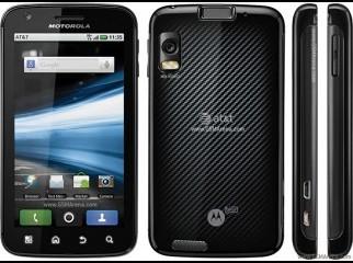 Motorola Atrix 4G - upgradeable to Android 2.3